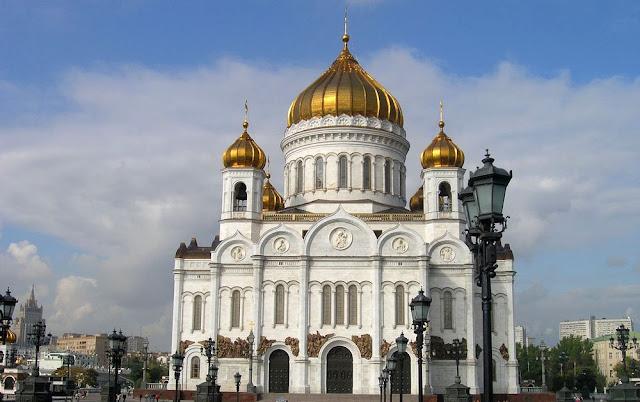 catedral del Cristo Salvador moscú