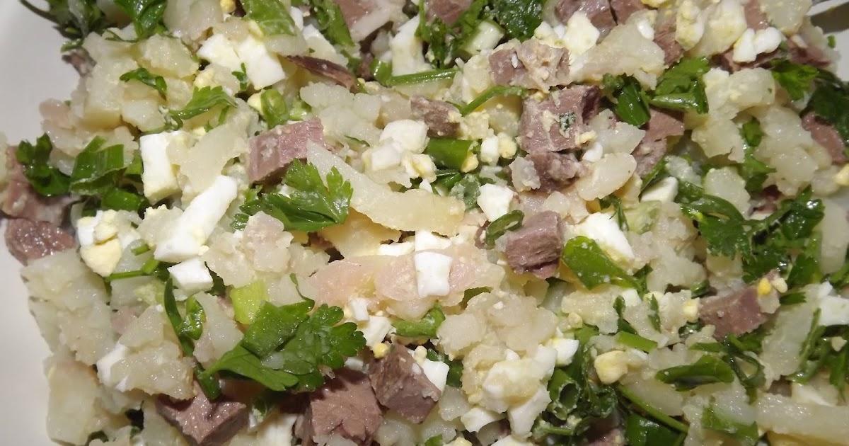 Салат с мясом и солеными огурцами рецепт пошагово