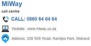 MiWay Customer Service Number South Africa