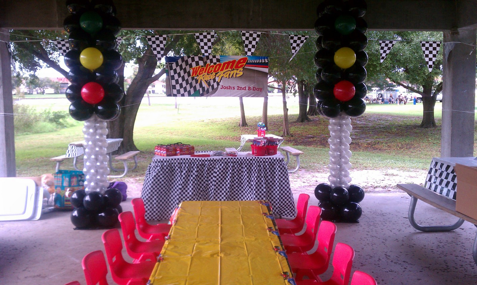 DreamARK Events Blog Cars Theme Decor Park Pavilion