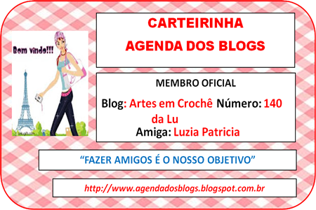 CARTEIRINHA DA AGENDA