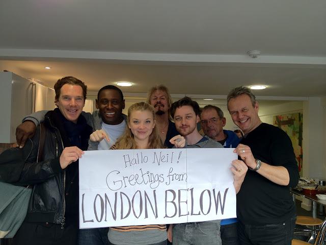 Neverwhere radio cast