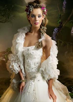 Vestidos de Novia con Flores, parte 2
