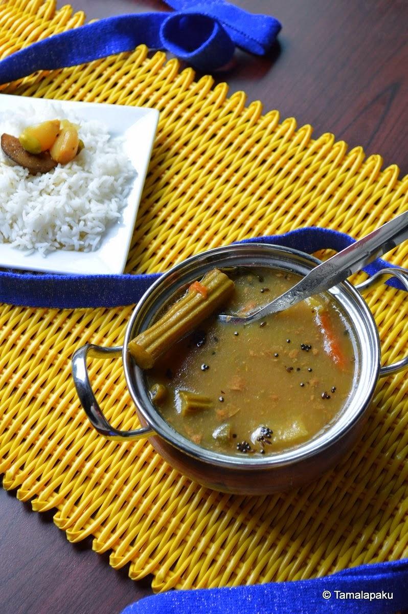 Dappalam - Vegetable Tangy Gravy