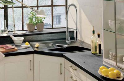 I d e a soluciones para cocinas que hacen esquina - Fregaderos de diseno ...