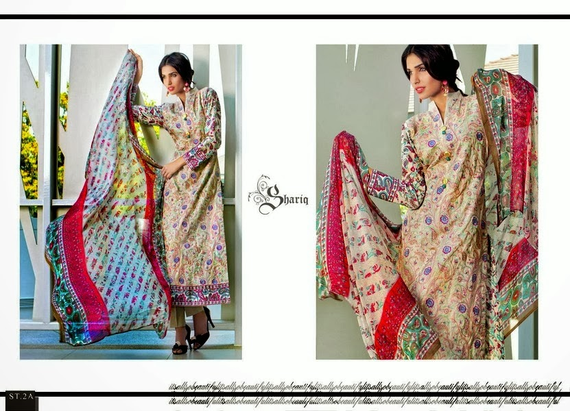 New Designs of Printed Lawn Suits