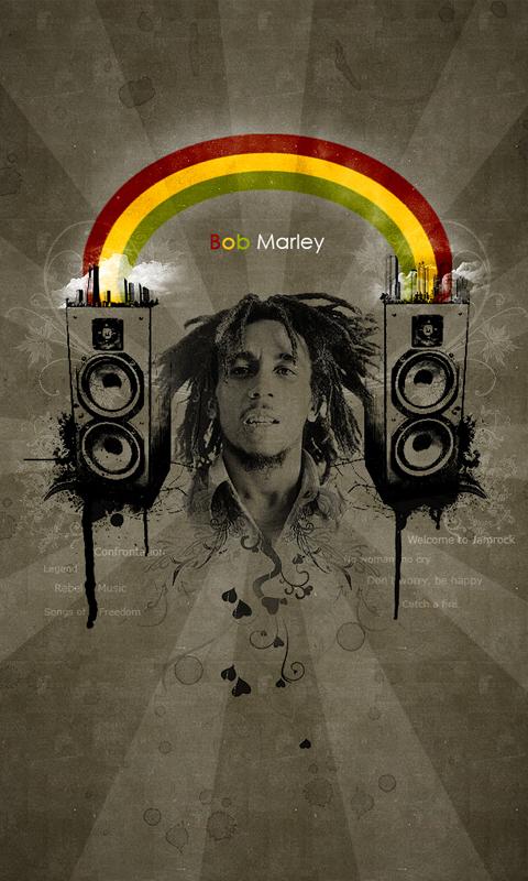 Preferência Papel de parade para Celular Reggae HD - SOMJAH - Rádio Reggae VH65