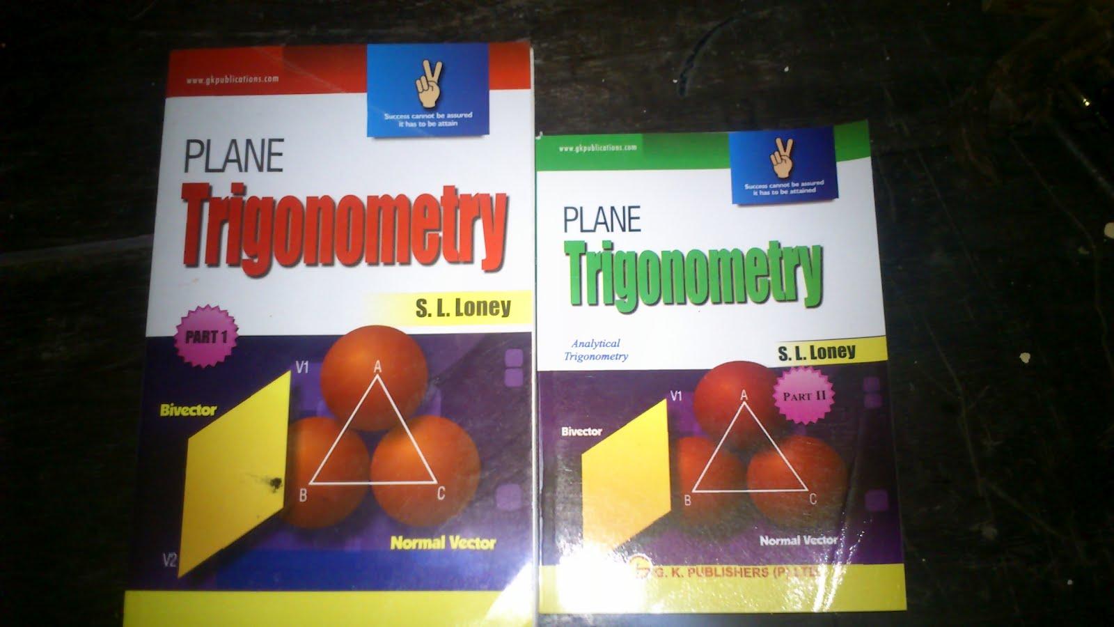 plane trigonometry by s l loney pdf download