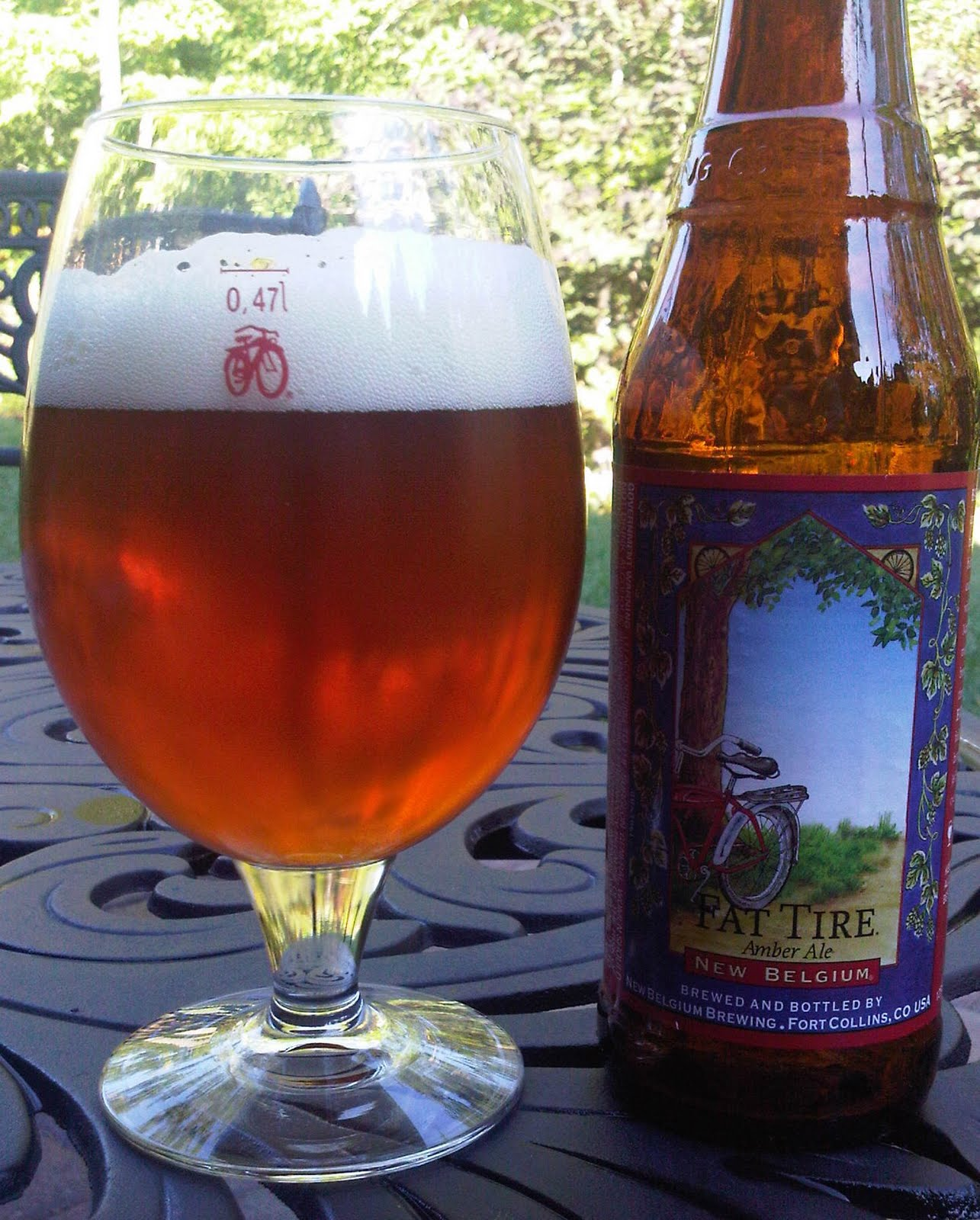 Jim's Beer Blog: Fat Tire Amber Ale