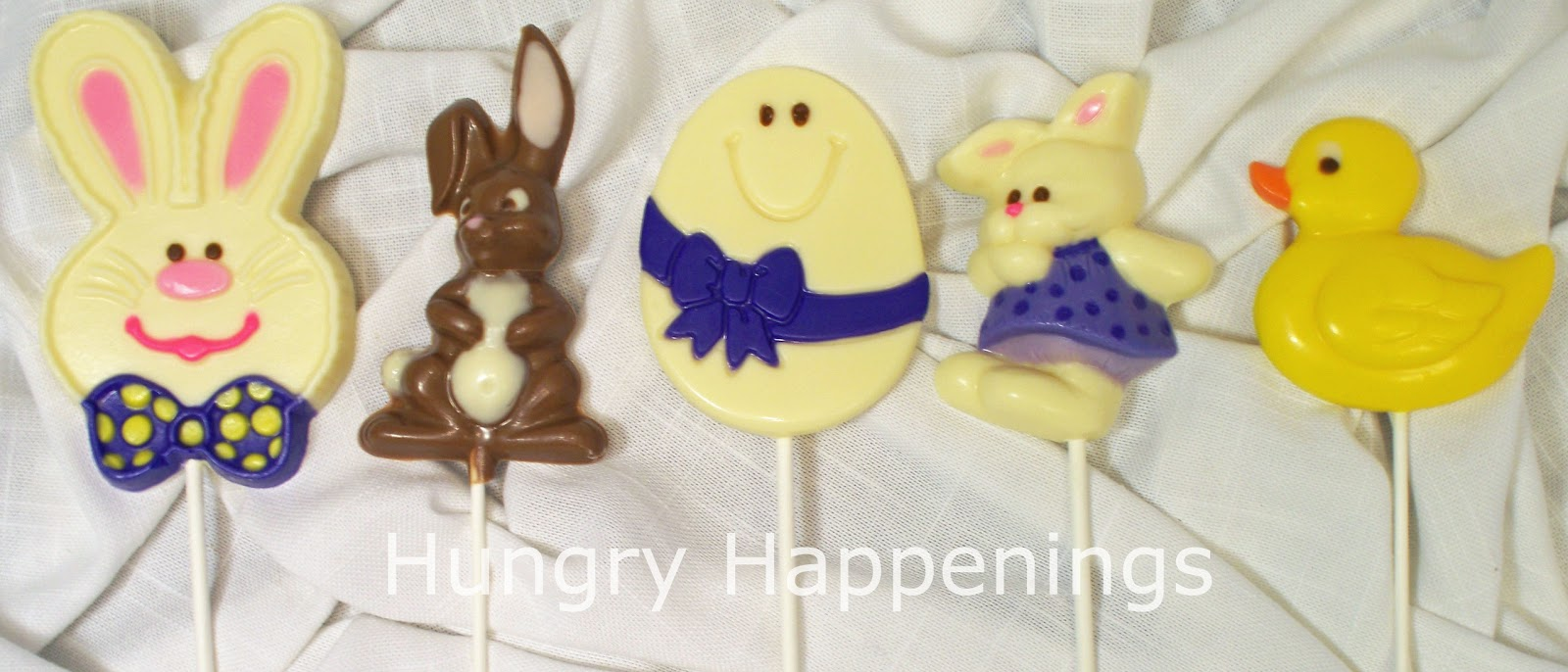 Hand painted chocolate easter pops hungry happenings i dont know about you but when i was little my favorite memories negle Choice Image