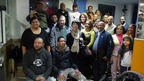 Reunión de la comunidad dominicana en Bellas Vistas
