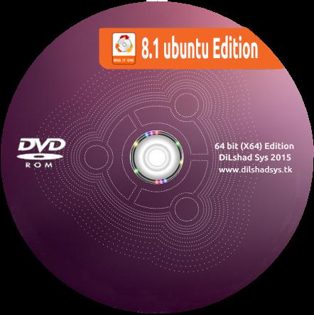 Windows 8.1 Ubuntu Edition 2015 (x64)