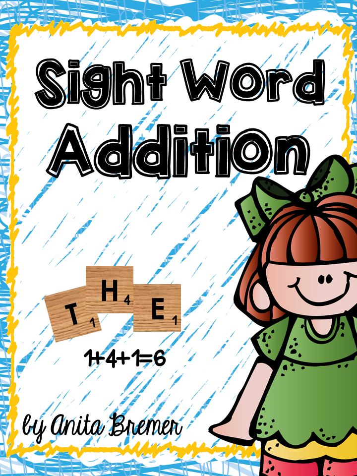 https://www.teacherspayteachers.com/Product/Sight-Word-Addition-1198780