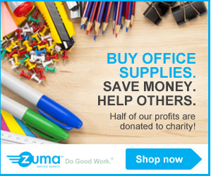 Zuma Gives 50% profit to charities!