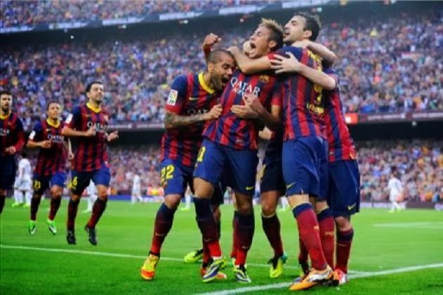 Neymar scored first in El Clasico