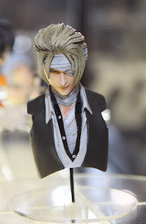 Square Enix Play Arts 2013 Toy Fair Display - Final Fantasy figure