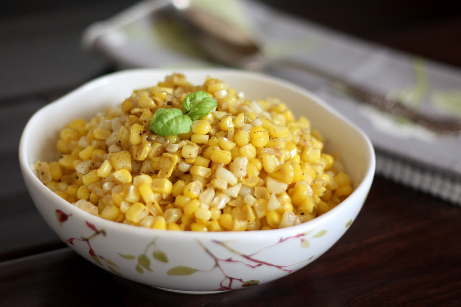 Barefeet In The Kitchen: Brown Butter Skillet Corn