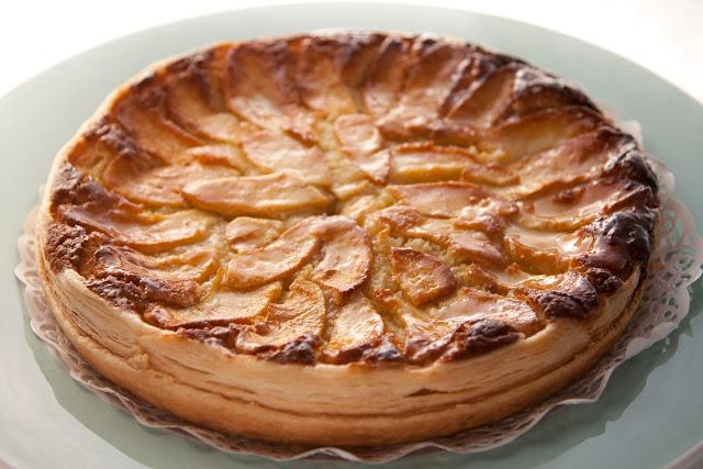 torta bourdaloue con sfoglia