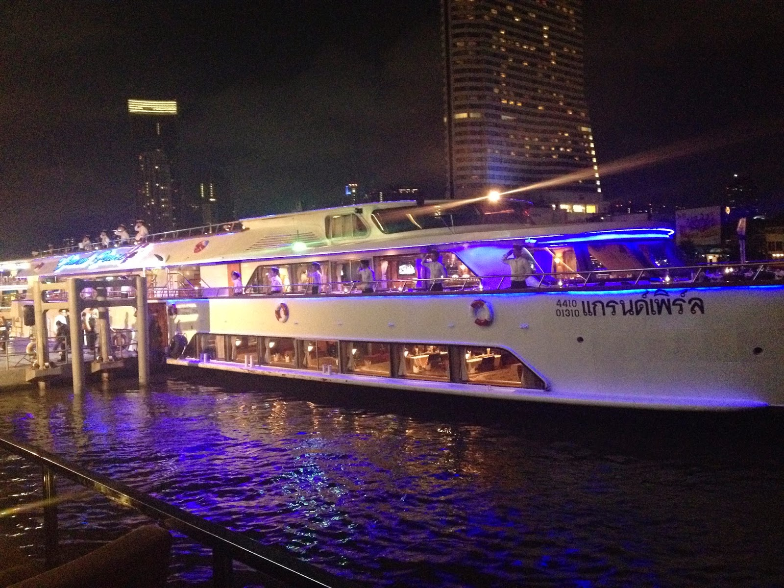 Chao Phraya Dinner Cruise Boat Bangkok