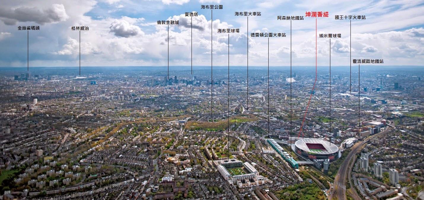 倫敦不動產投資地點