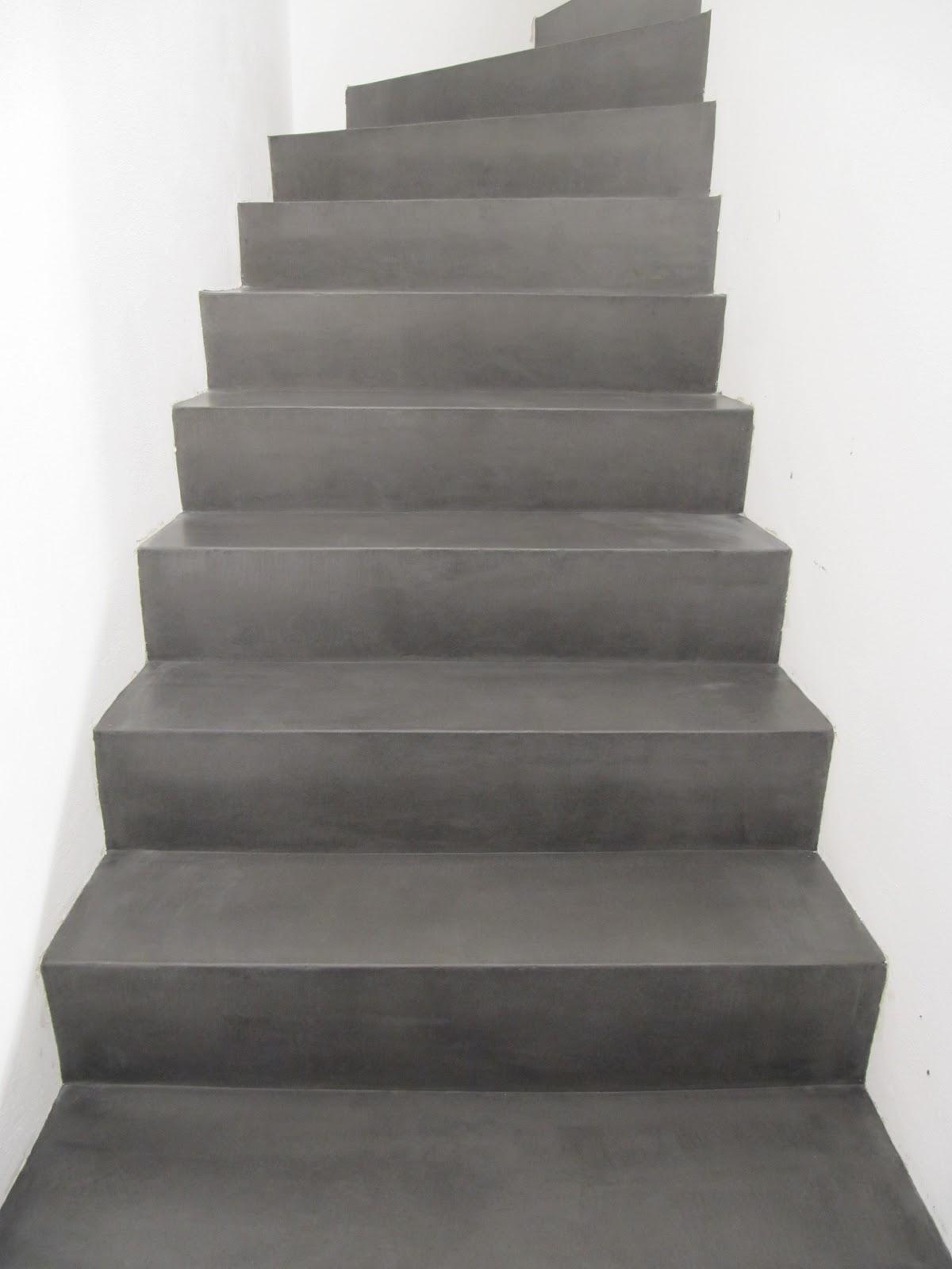 Beton unique beton cire betontreppe - Beton cire millimetrique ...