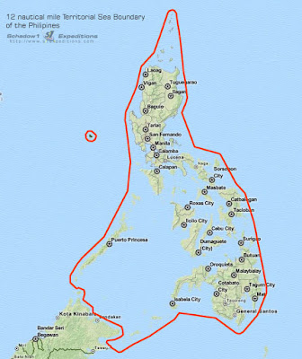 UNCLOS Territorial Sea Boundary of the Philippines - Schadow1 Expeditions