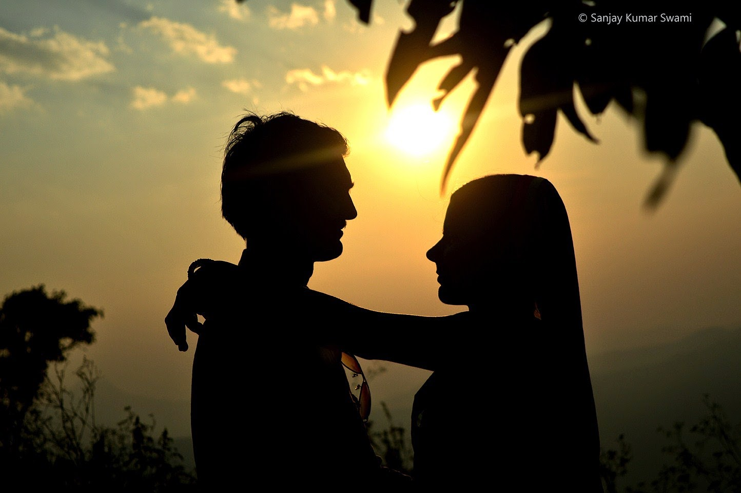 couple in romance