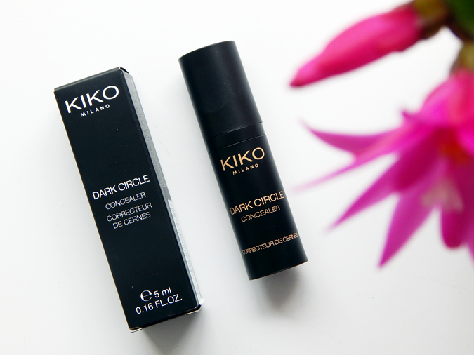 KIKO Dark Circle Concealer 01 Porcelain Review