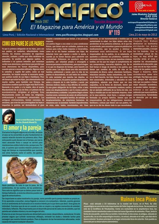 Revista Pacífico Nº 119 Arqueología