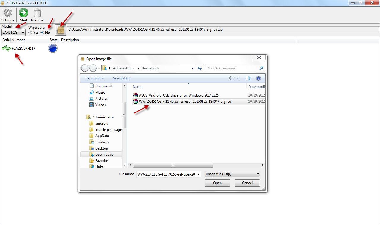 Asus Zenfone Usb Driver For Windows 10