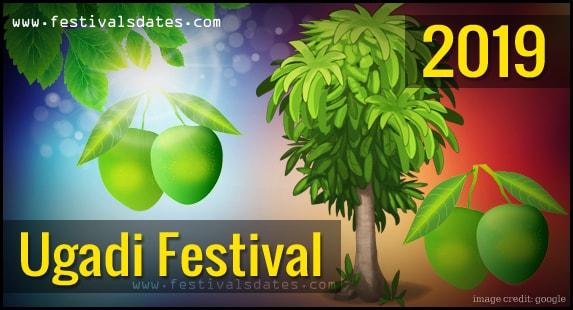 2019 ugadi festival date in india 2019 hindu calendar