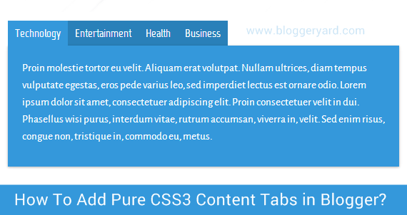 Adicionar Tabs content  Pure CSS no Blogger