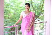 Swathi Dazzling in Pink saree-thumbnail-12