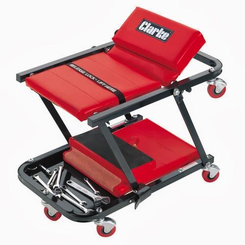 In it's mechanics seat form