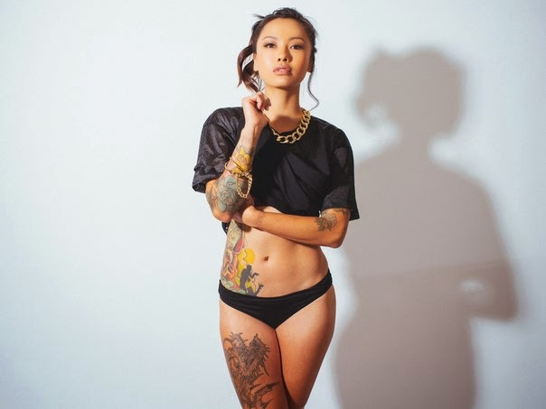 Girls With Tattoos Levy Tran