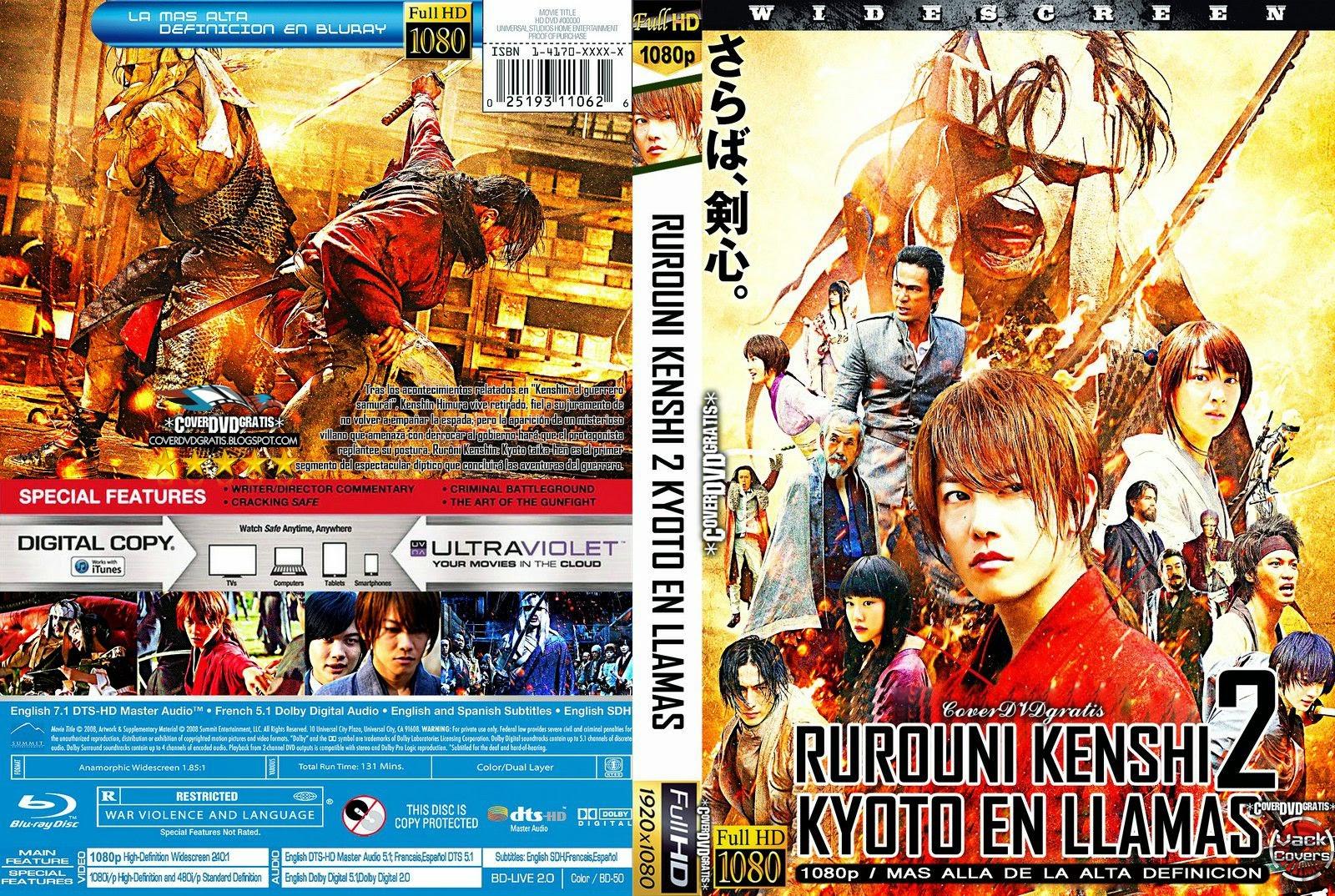 Download Samurai X O Inferno de Kyoto BDRip XviD Dual Áudio Rurouni 2BKenshin 2B2 2B  2BKyoto 2BEn 2BLlamas 2B CoveRdvdGratiS