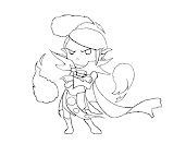 #40 Dota 2 Coloring Page