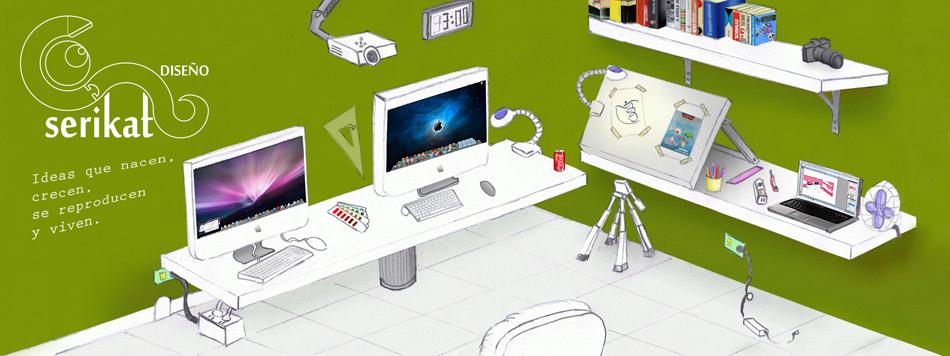 Serikat diseño / Despacho de diseño / Diseñador gráfico