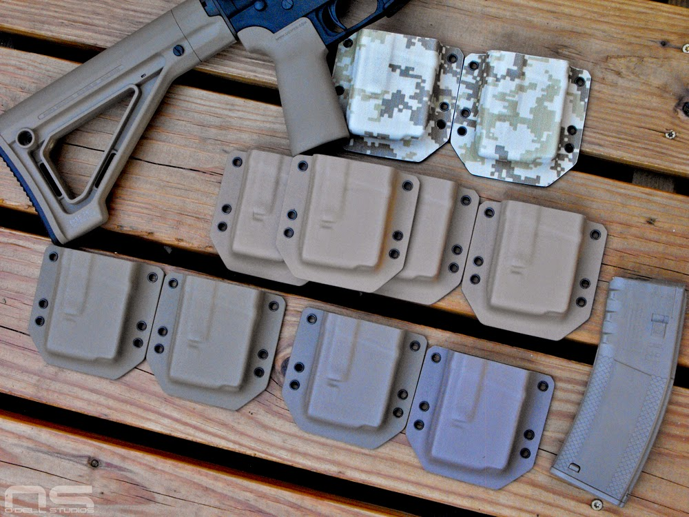 fde, flat dark earth kydex, rifle mag carriers for sale