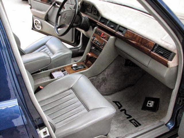 mercedes s124 hammer interior