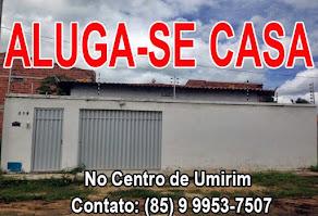 ALUGA-SE CASA