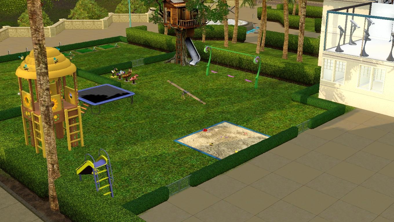 sims 3 school playground