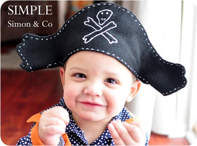 felt pirate hat