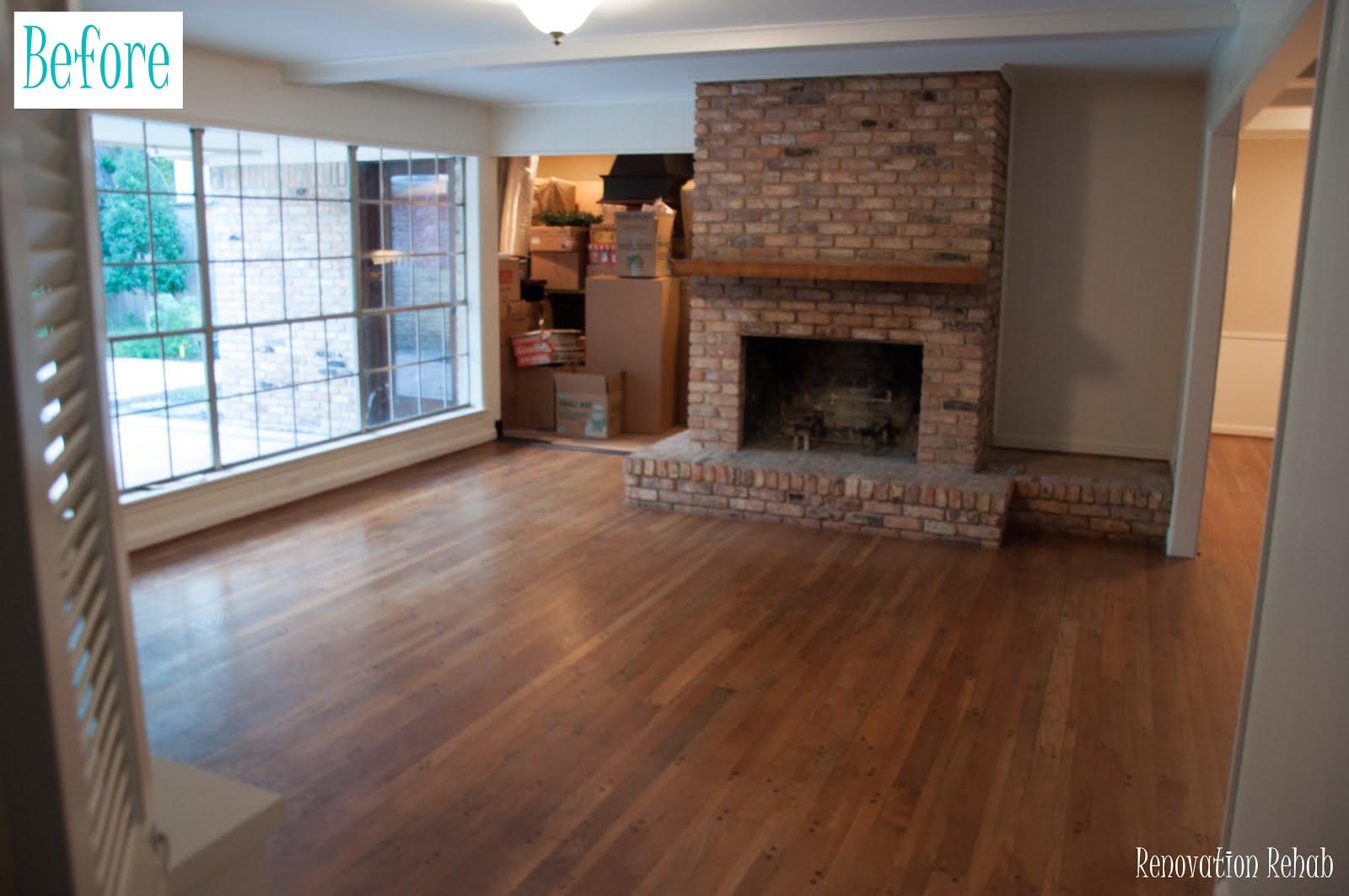 Renovation rehab reclaiming salvaged hardwood floors for Hardwood floors throughout