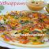 South Indian breakfast - Onion uttapam recipe
