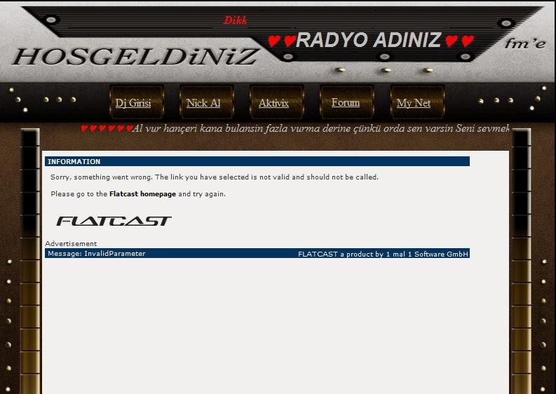 Flatcast İtalik Portal İndex(By Okan)