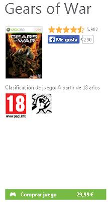 Gears of War será el primer juego del Games with Gold de Diciembre