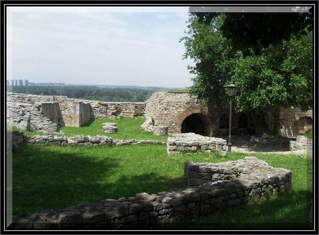 Ruins of medieval Belgrade