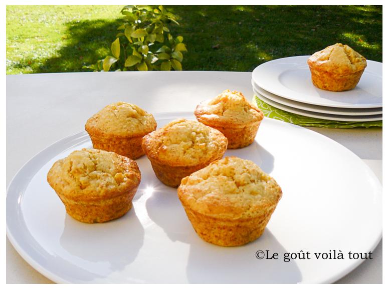 Muffins mangue et noix de coco