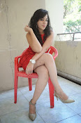 Saba Saudagar Glam photo shoot in red-thumbnail-13